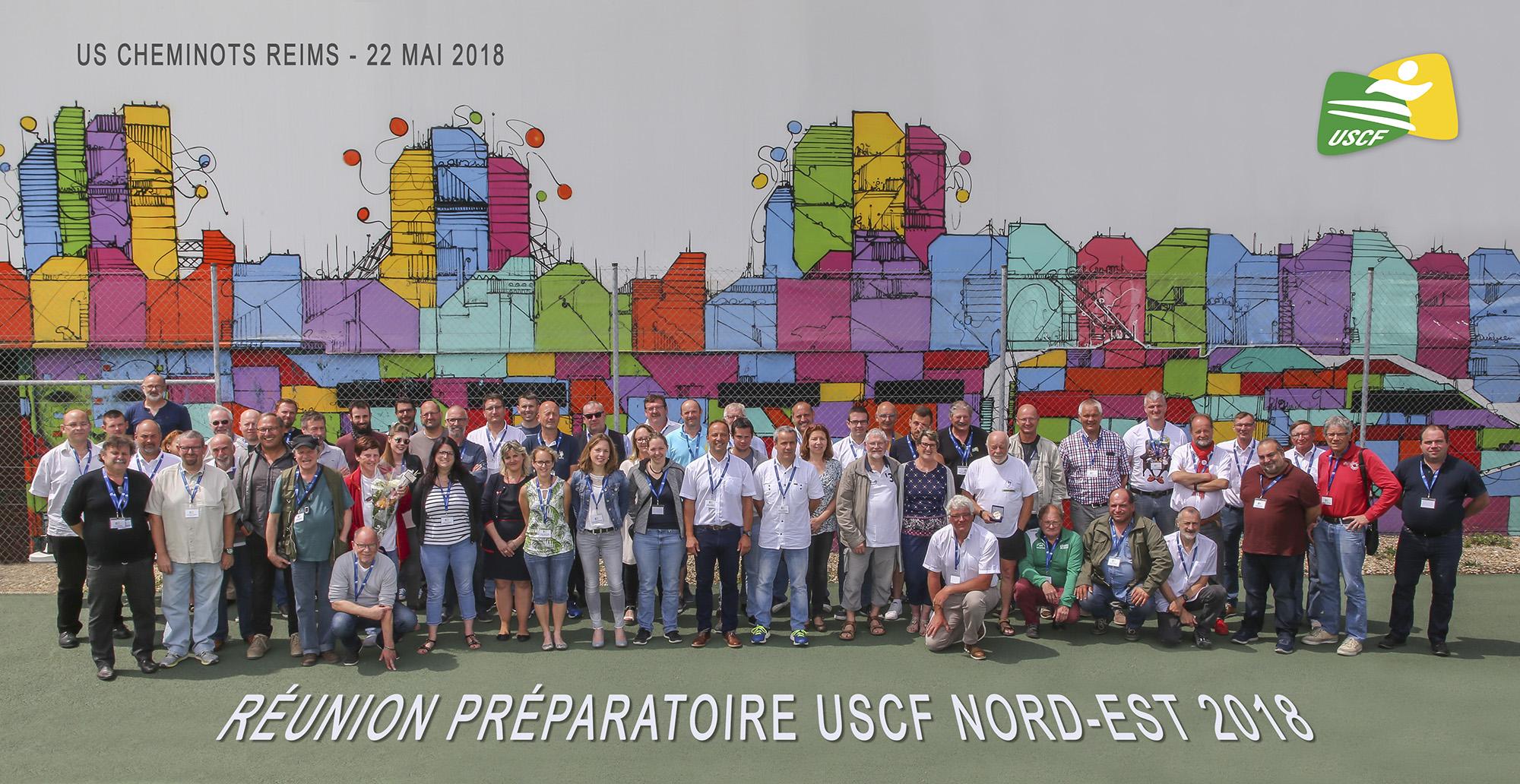 Réunion Préparatoire Nord Est 2018