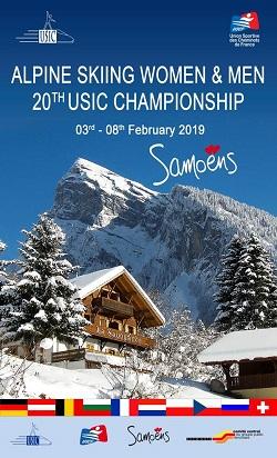 L'USIC de Ski Alpin 2019 au centre CCGPF de Samoëns!!!