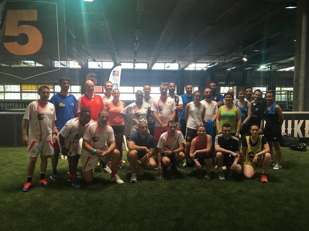 Un succès pour l'USCF au tournoi de Foot Mixte SNCF!!!
