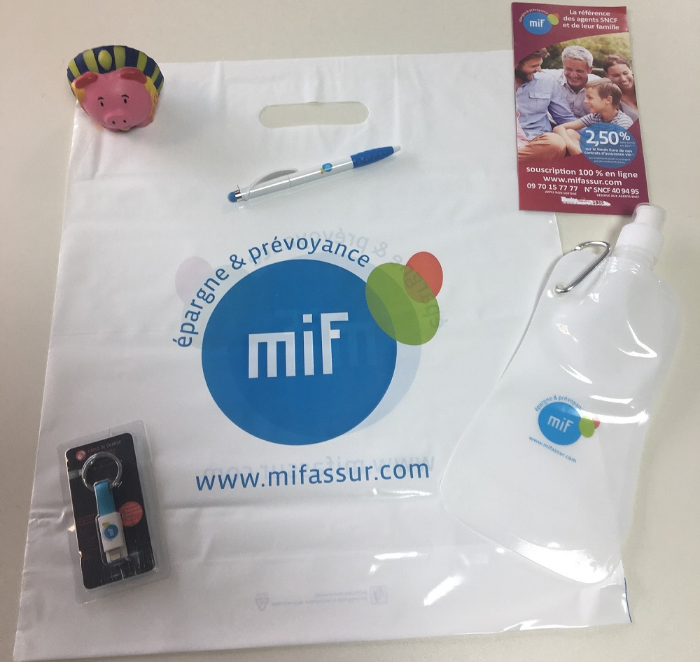 Une nouvelle dotation de la MIF (Mutuelle Ivry-la Fraternelle)!