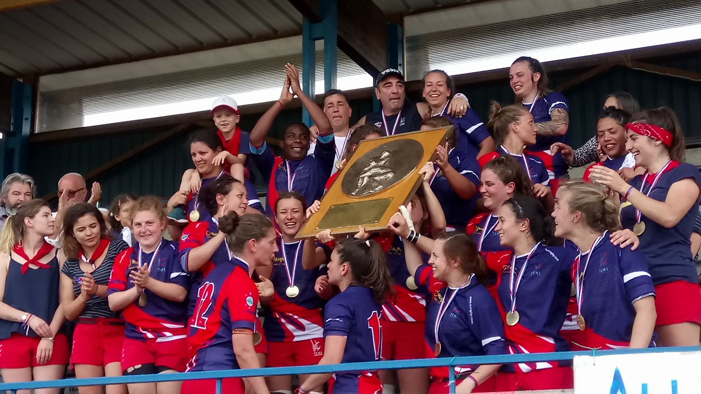 L'équipe Féminine de Rugby du TCMS championne de France!!!