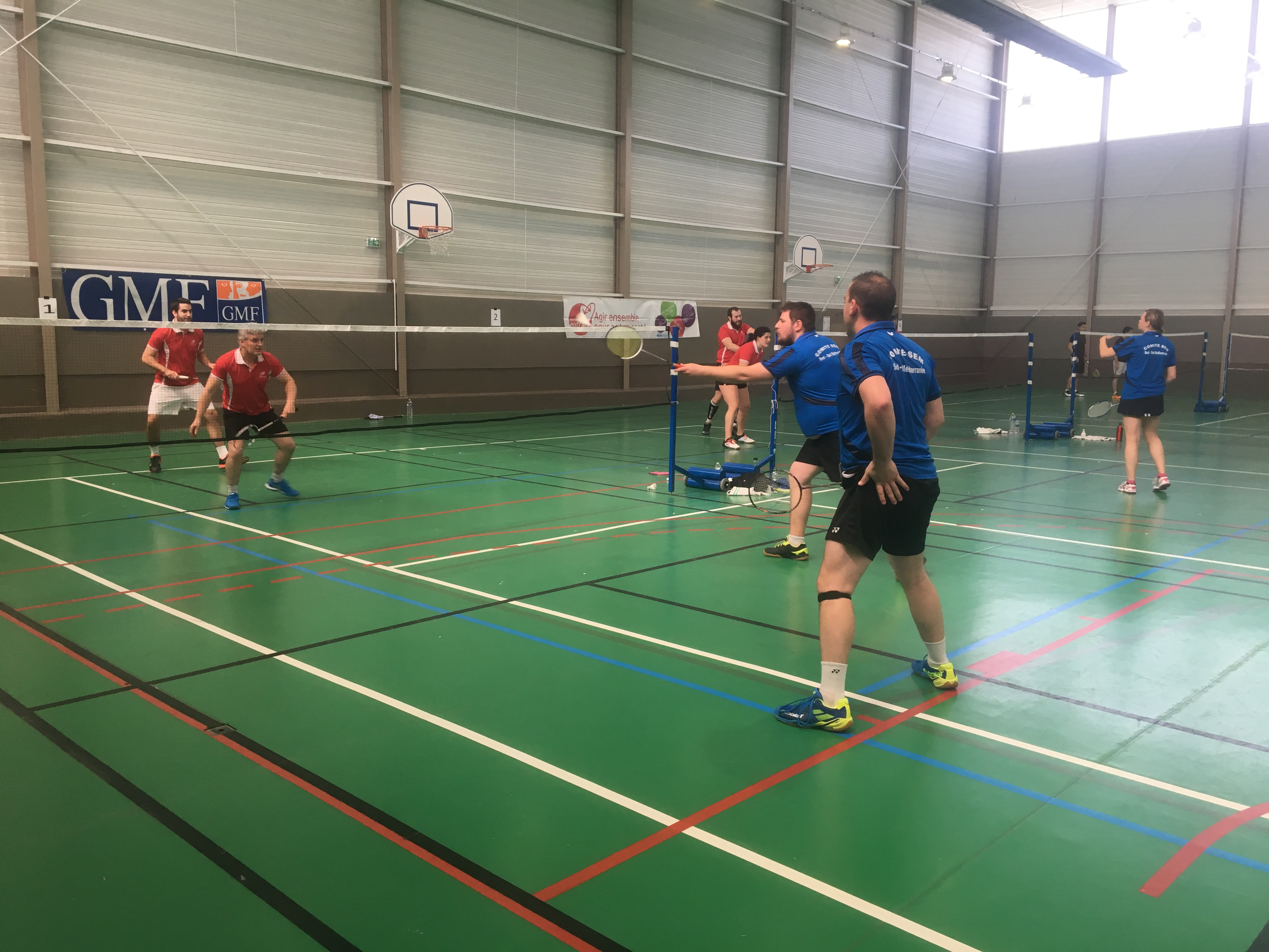 Le SEM remporte le challenge national USCF 2019 de Badminton!!!