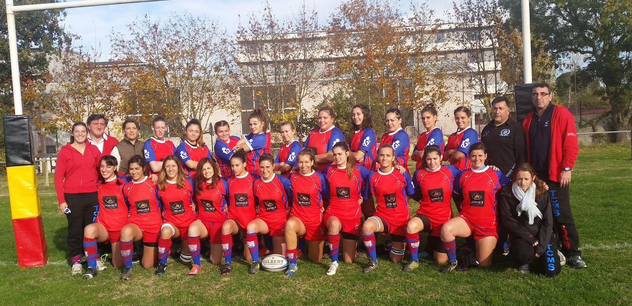 L'équipe Féminine de Rugby du TCMS en Finale du Championnat de France!!!